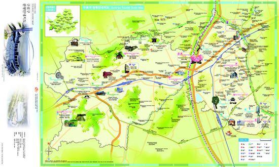 구로구 다국어 관광안내지도(영어)