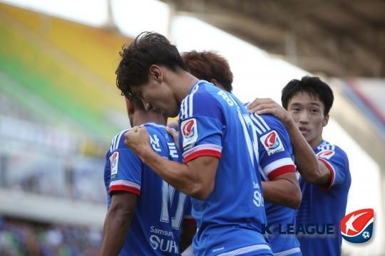 수원 삼성 장현수, 사진=한국프로축구연맹 제공