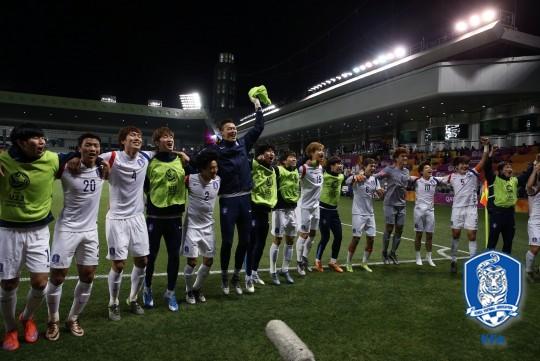 올림픽축구대표팀, 사진=대한축구협회 제공