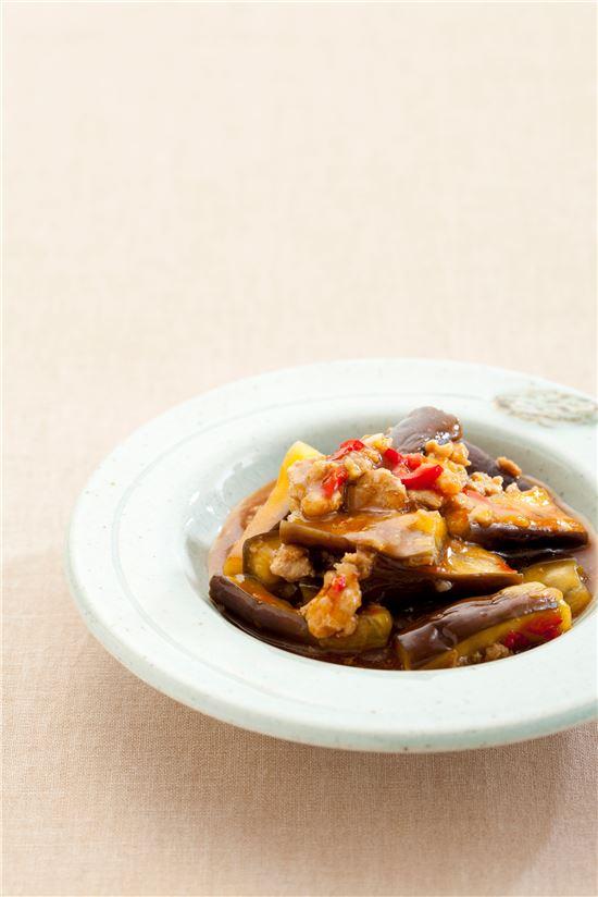 중국식 가지볶음