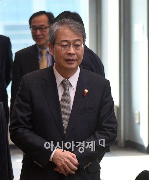 [포토]금융발전심의회 참석하는 임종룡 위원장
