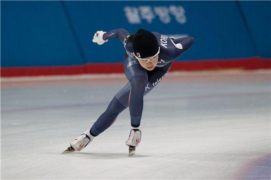스피드스케이팅 국가대표 김민선[사진= 대한빙상경기연맹 제공]