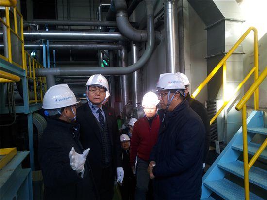 용인시는 관내 8개 정수시설에 대한 안전점검을 실시했다.