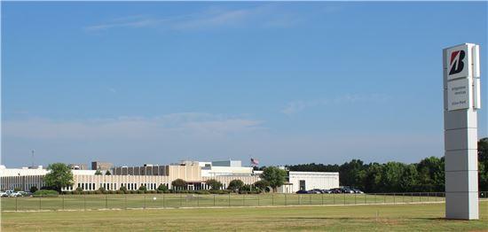 브리지스톤의 미국 윌슨 생산시설 전경.