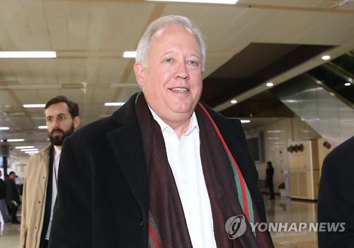토머스 섀넌 미국 국무부장관 특보 겸 정무차관 내정자. (사진:연합뉴스)