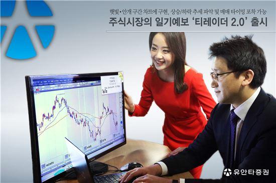 유안타증권, 인공지능 HTS '티레이더 2.0' 출시