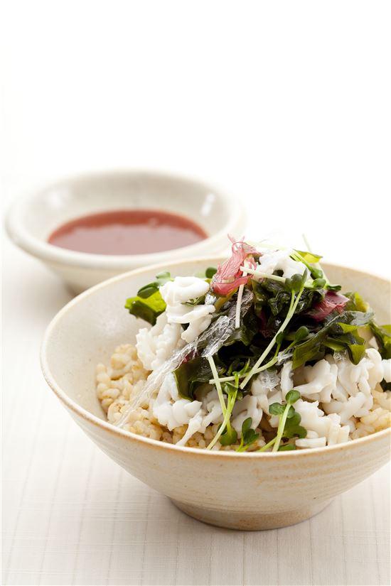 해초 비빔밥