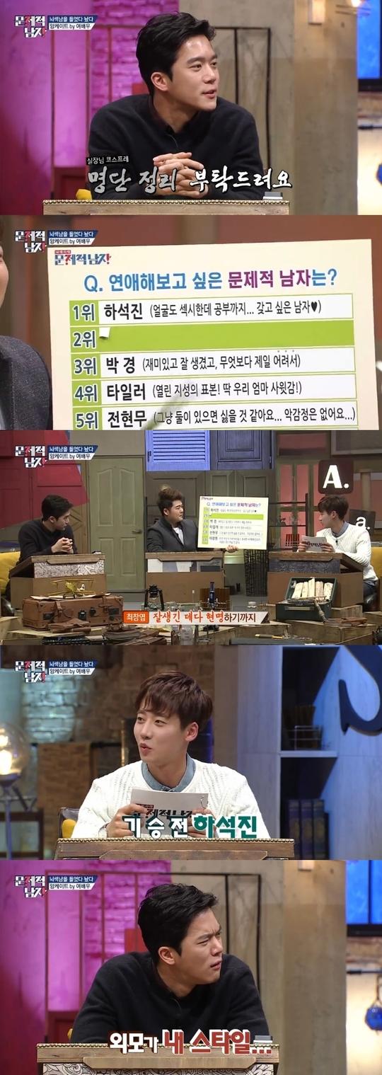 문제적남자 순위. 사진=tvN 화면 캡처.