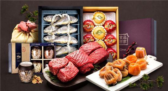 [설날, 마음을 전하세요] CJ오쇼핑, 단독 브랜드 '식품 종가' 최대 40% 할인