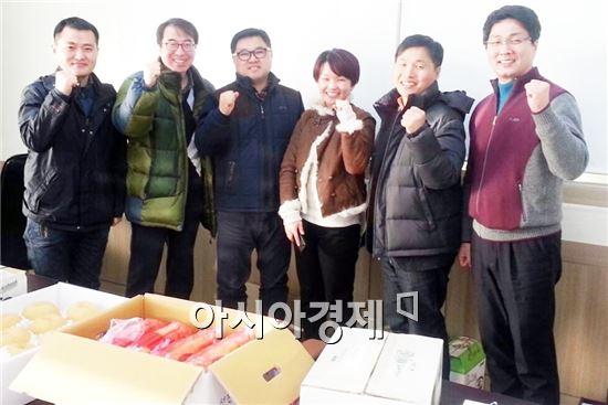 1일 우리지역에 방문한 수출업체(담터(서울), 한사랑(경남 김포))를 대상으로 유자차와 딸기의 수출확대를 위한 홍보마케팅을 실시했다.
