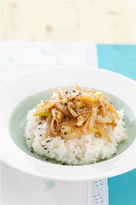 양파 간장덮밥