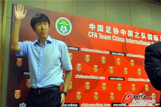 가오 홍보 감독이 중국 대표팀으로 돌아왔다 [사진=시나스포츠 홈페이지]