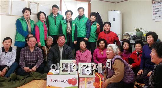 장흥군새마을회 설맞이 이웃사랑과 나눔 문화 실천