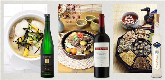 설 명절요리와 궁합 좋은 와인 추천…떡국엔 '리슬링 와인'