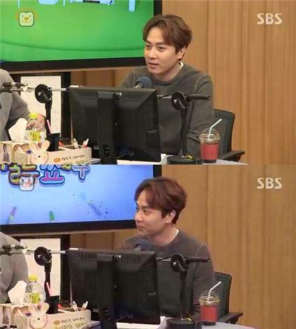 '컬투쇼' 앤디. 사진=SBS 보이는라디오 캡처