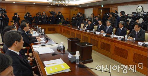 [포토]개성공단 입주기업 지원 긴급 회의