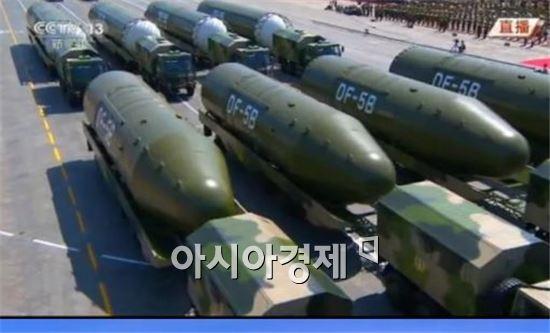 다탄두 탑재형  ICBM으로 개량중인 중국의 DF-5