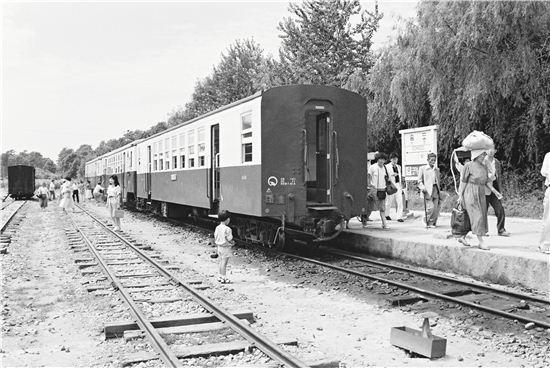 ▲수인선 협궤열차