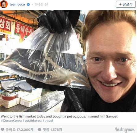 코난 오브라이언 / 사진 = 코난 오브라이언 인스타그램 캡처