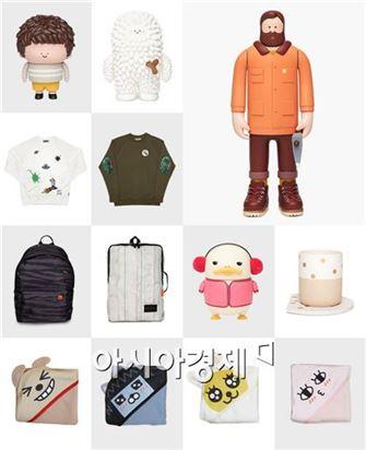 메이커스 위드 카카오를 통해 판매되는 상품들 (사진제공 : 카카오)