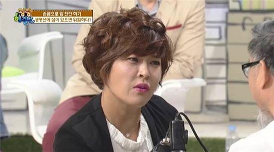 '명랑해결단' 조혜련. 사진=채널A 방송화면 캡처