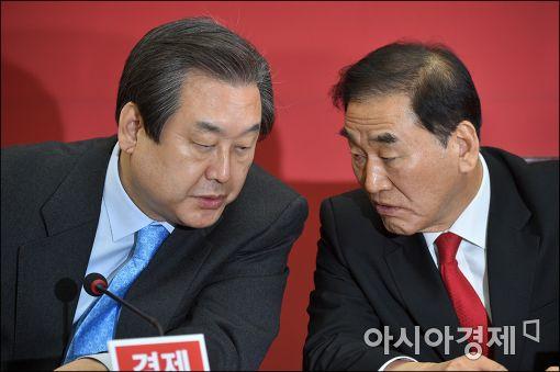 김무성, 이재오 새누리당 의원. 사진=아시아경제DB