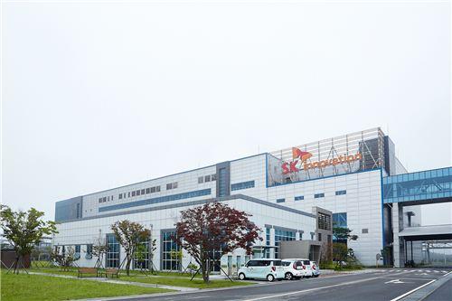 ▲SK이노베이션 배터리 서산공장 전경
