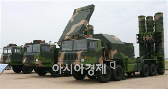 중국이 남중국해에 배치한 지대공 미사일 HQ-9