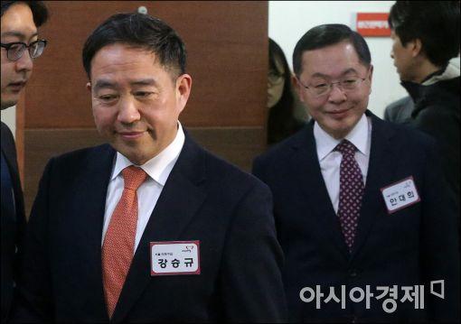 '컷오프' 강승규, 서울 마포갑 무소속 출마 선언(상보)