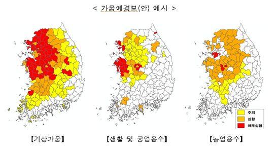 '가뭄 예경보' 다음달부터 시범 운영…매달 10일 발표