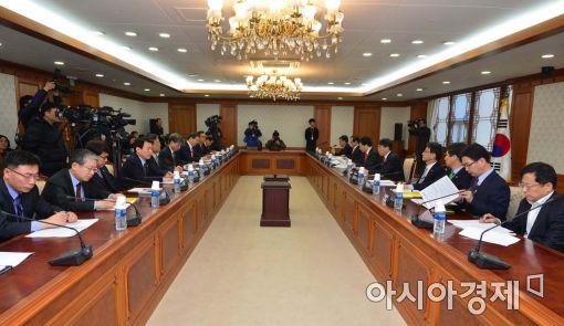 [포토]개성공단 기업지원 정부합동대책반 4차회의