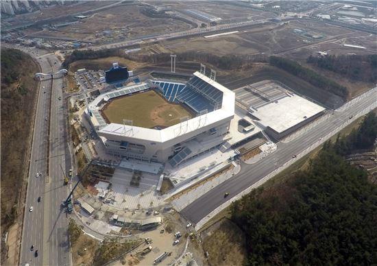 대우건설, 대구삼성라이온즈 파크 완공