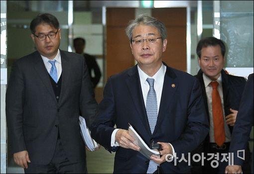[포토]임종룡 금융위원장, 금융개혁 추진위 참석