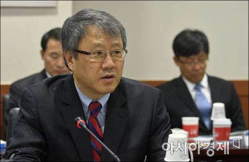 [포토]발언하는 장범식 금융개혁추진위원장