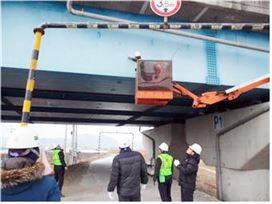 전남도로관리사업소 해빙기 도로 시설물 안전 점검