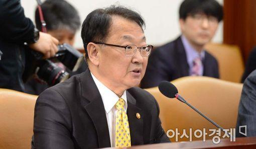 유일호 경제부총리 겸 기획재정부 장관