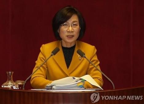 필리버스터 7번째 주자 김제남 의원. 사진 = 연합뉴스