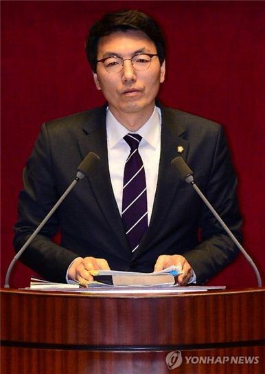 필리버스터 11번째 주자 서기호 정의당 의원. 사진 = 연합뉴스