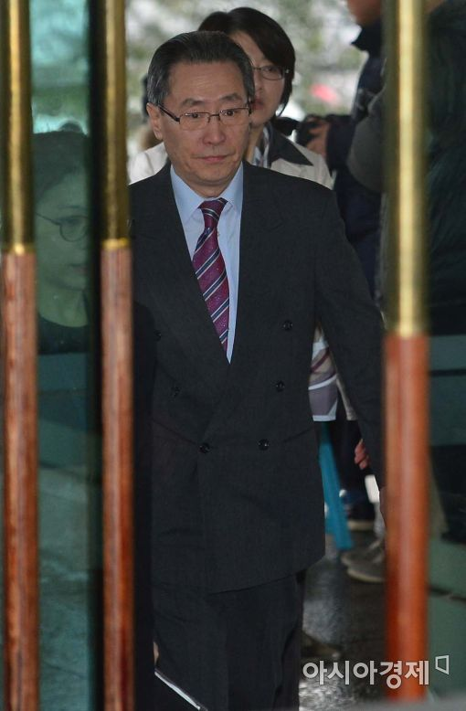[포토]외교부 청사 들어서는 우다웨이 中 대표