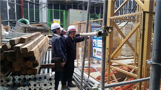 논현동 건설 현장 안전 점검