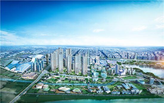 '킨텍스 원시티' 조감도(제공: GS건설)
