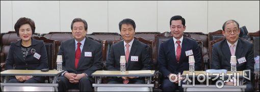 [포토]김무성 대표, 공천면접
