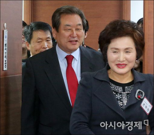 [포토]공천면접 받으러 온 김무성 대표