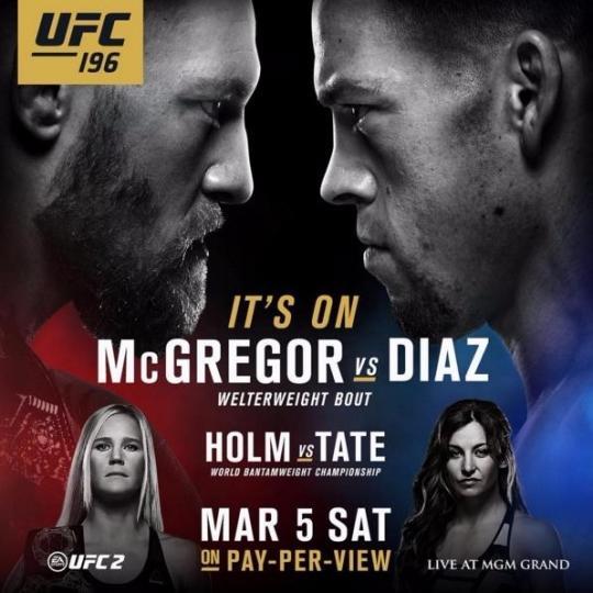 디아즈가 맥그리거를 상대로 서브미션 승리를 거뒀다. [사진=UFC 제공]