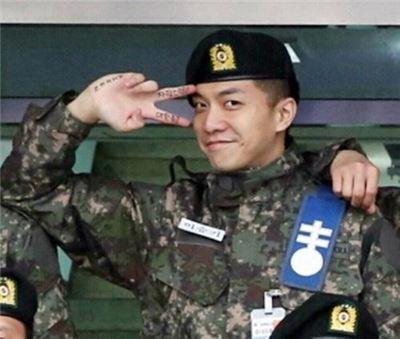 이승기. 사진=육군훈련소 홈페이지