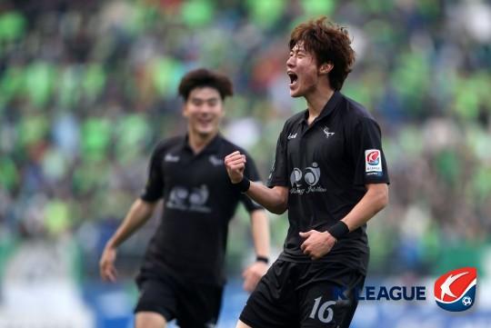 황의조 [사진=한국프로축구연맹 제공]