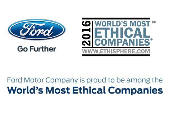 2016 세계에서 가장 윤리적인 기업 선정.