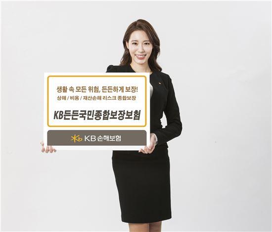 KB손보, 'KB든든국민종합보장보험' 출시