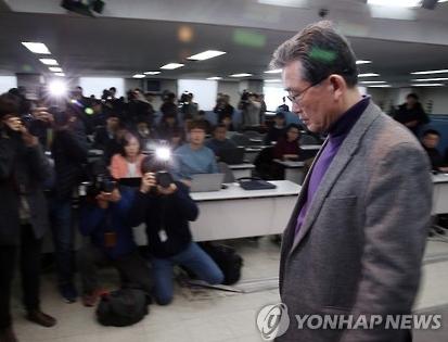이한구 새누리당 공천관리위원장. 사진 = 연합뉴스