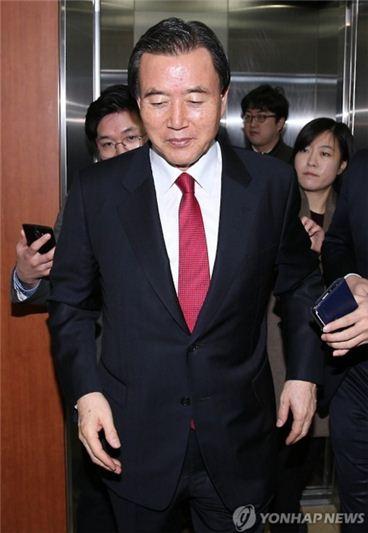홍문표 새누리당 공천관리위원. 사진 = 연합뉴스